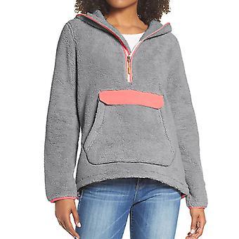 Teddy Bear Faux Fur Hoodie Women Hooded Fleece Sweatshirt Pullover Jumper Top