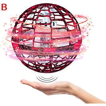 Nouveau Flying Ball Toys Globe Shape Magic Controller Mini Drone Flying Toy, Built-in Rgb Lights Spinner 360 Rotation en toute sécurité pour les enfants Adultes Magie