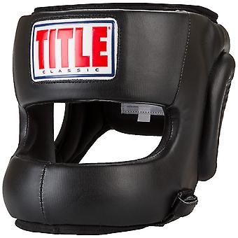 Title Classic Face Protector Youth Boxing Headgear