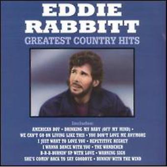 Eddie Rabbitt - Greatest Country Hits [CD] USA import