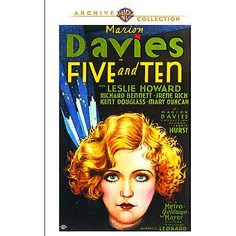Five & Ten [DVD] USA import