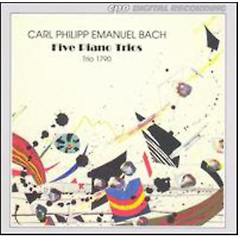 C.P.E. Bach - Cpe Bach: Importación USA Piano tríos [CD]