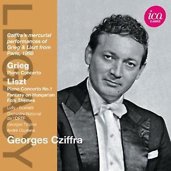 Grieg/Liszt - Grieg: Piano Concerto: Liszt: Piano Concerto No. 1; Etc. [CD] USA import