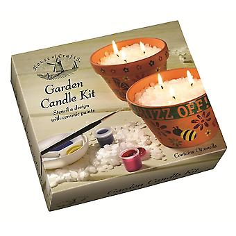 House of Crafts Garden Candle Kit