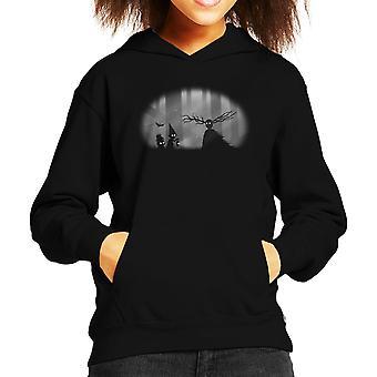 Eigenzinnige zielen Over de tuin muur Limbo Kid's Hooded Sweatshirt