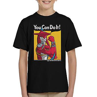 Prince Sidon You Can Do It Legend Of Zelda Breath Of The Wild Kid's T-Shirt