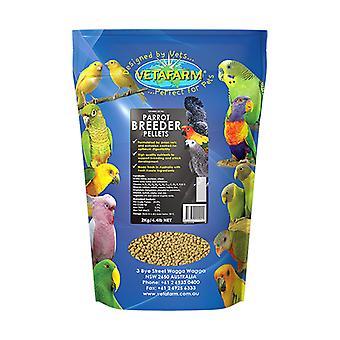 Perroquet Pellet éleveur régime 2kg Vetafarm