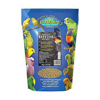 Papagei Pellet Züchter Diät 2kg Vetafarm