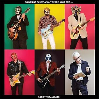 Los Straitjackets - (Whats So Funny Bout) Peace Love & Lo [CD] USA import