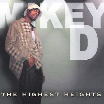 マイキー D. - 最高高さ [CD] USA 輸入