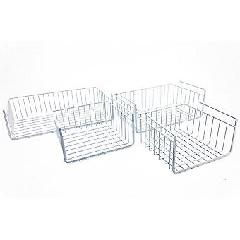 Modern Home Cabinet Wire Hanging Basket Shelves