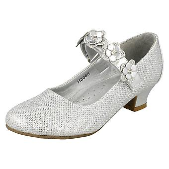 Spot de filles sur Glittery milieu talon chaussures H3068