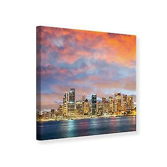 Lona impresión Mural horizonte las luces de Sydney