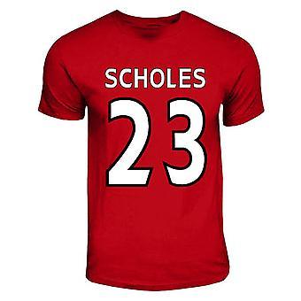 Paul Scholes Manchester United Hero T-shirt (red)