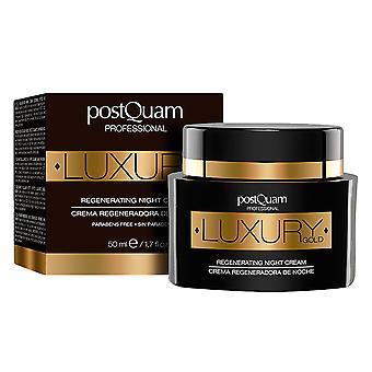 PostQuam luxo ouro regenerando noite 50 Ml de creme para as mulheres