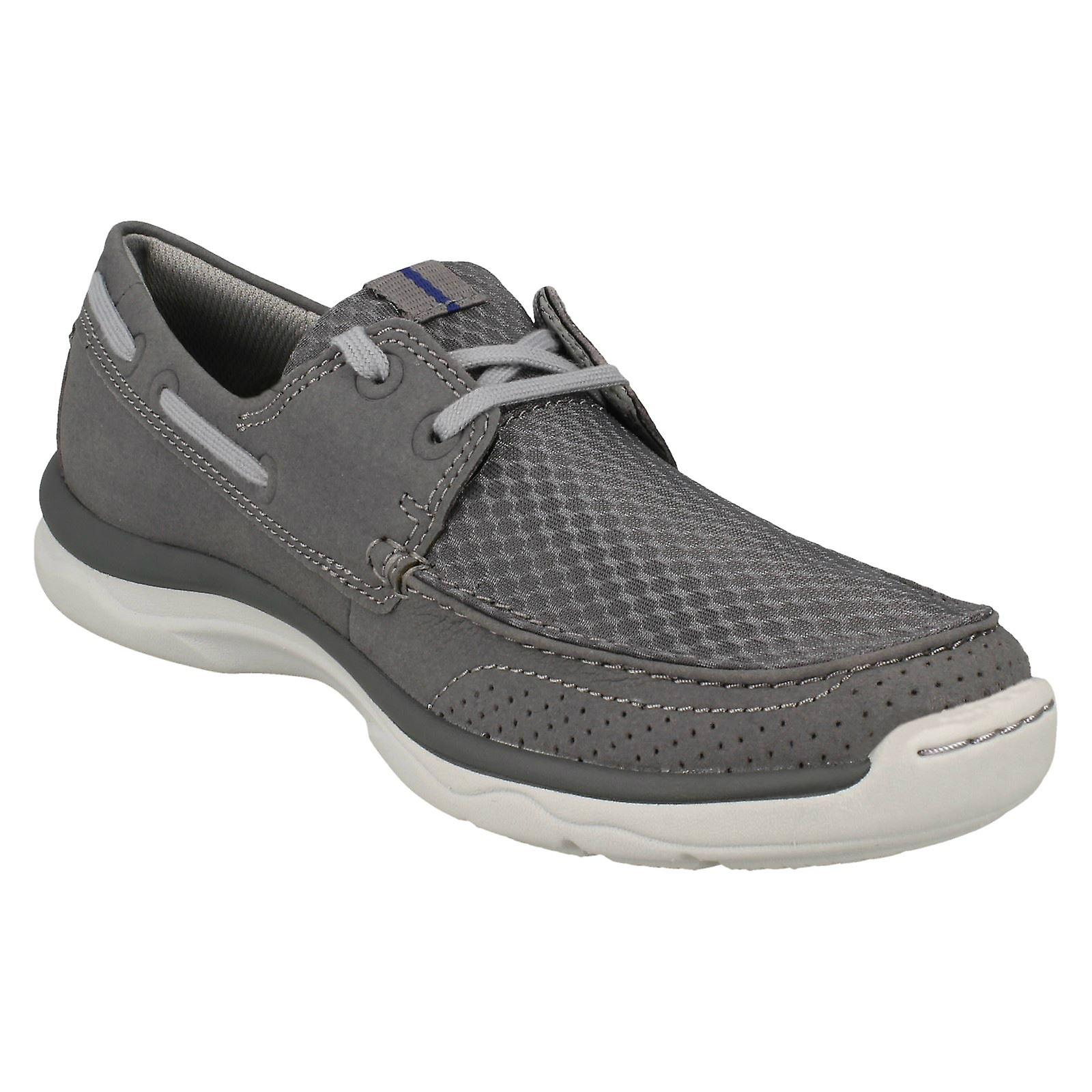 Lacets Mens Clarks Cloudsteppers Casual Chaussures Marus Edge