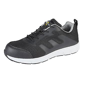 Grafters Mens Steel Toe Safety Trainers