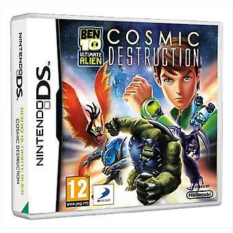 Ben 10 Ultimate Alien Cosmic Destruction (Nintendo DS)-fabriks forseglet