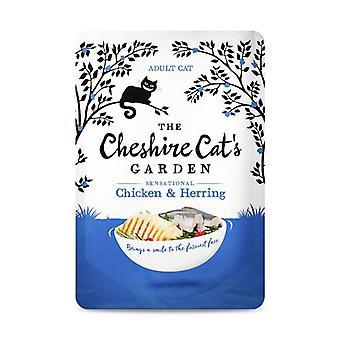 Kot z Cheshire ogród kurczaka i śledzia mokry kot żywność - 1 X 85g