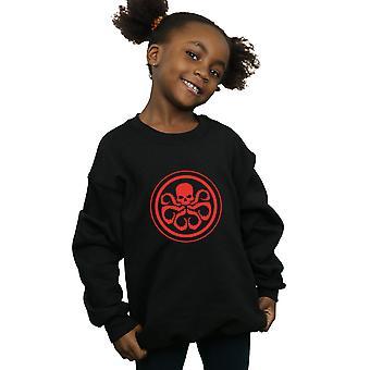 Maravilha meninas Hydra logotipo moletom