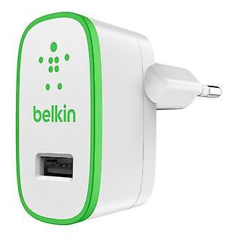 Belkin mixit F8J052VFGRN USB power adapter laddare 2100mAh grön