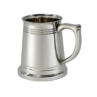 Satin Pewter Quarter Pint X Range Baby Mug