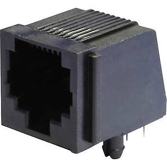 モジュラー マウント ソケット ソケット、水平マウント MEB8/8 P ブラック econ 接続 MEB8/8 P 1 pc(s)