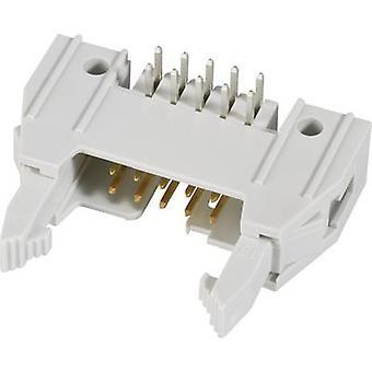 Connecteur FCI + éjecteur (long), plus la souche secours clip Contact écartement: 2,54 mm nombre de broches: 10 no de lignes: 2 1 PC (s)