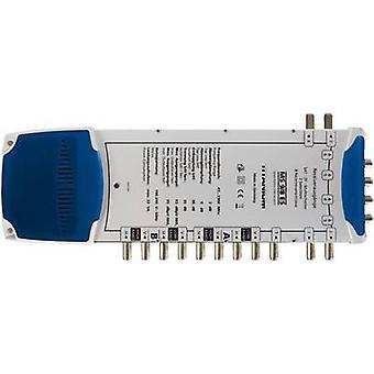 Smart Multischalter MS 9/8 ES SAT Eingänge (Multischalter): 9 (8 SAT/1 Terrestrial) Nr. Mindestteilnehmerzahl pro Kurs: 8 Quad LNB kompatibel