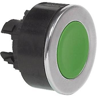 BACO L23AA02 drukknop voor ring (staal), verchroomd groen 1 PC (s)