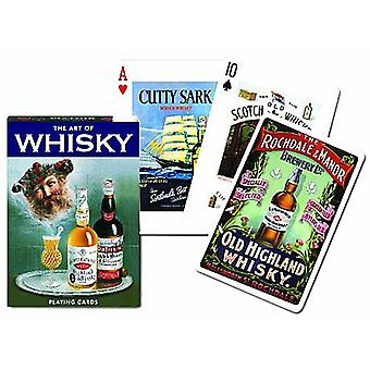 Art de whisky jeu de 52 cartes + Jokers