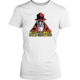 Quis custodes Custodiet Ipsos - Who Watches the Watchmen - Conspiracy Ladies T-shirt