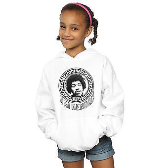 Jimi Hendrix tytöt kuvio ympyrän huppari