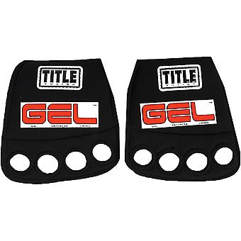 Title Boxing Gel Iron Custom Form Fit Neoprene Fist Guards - Black