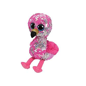 Sequin de TY Flippable Pinky Pink Flamingo Beanie