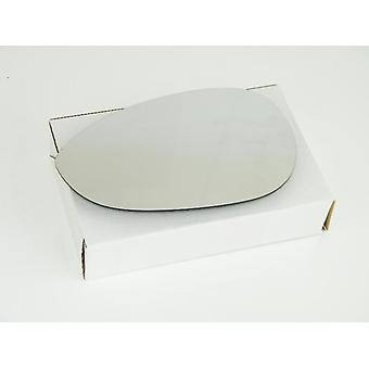 Left Mirror Glass (not Heated) & Holder For Fiat GRANDE PUNTO Van 2008-2010