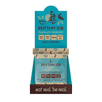 Rhythm 108 Gluten Free Vegan Chocolate Hazelnut Tea Biscuits