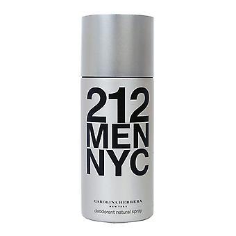 Carolina Herrera 212 Hommes Deo Spray 150ml