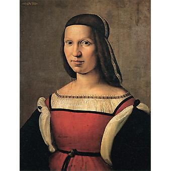 Portrait of a Lady, Ridolfo Ghirlandaio, 60x 49.5 cm