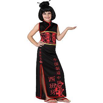 Children's costumes Girls Chinese costume child 5-6 year T-2