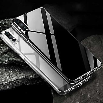 För Huawei P30 TPU Silikon case transparent ultra thin case väska täcker