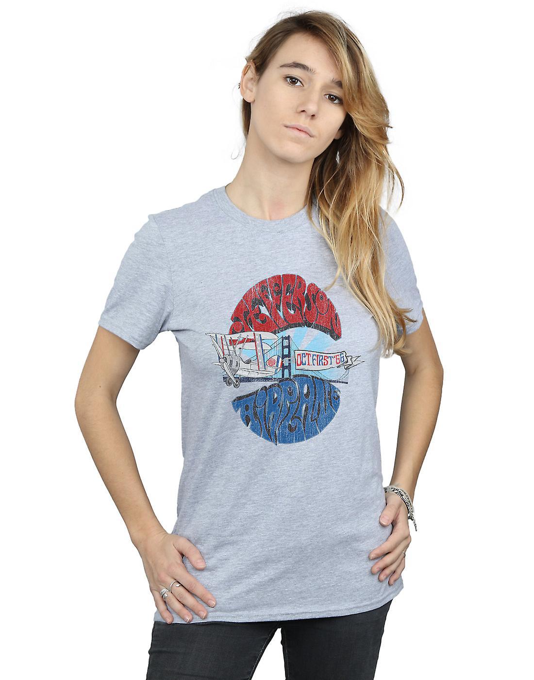 Jefferson Airplane Women's October 66 Boyfriend Fit T-Shirt