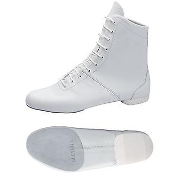 Guardia bianca stivali / stivali M1 con modello split-suola / metà-sottopiede in pelle scamosciata: 4623-H