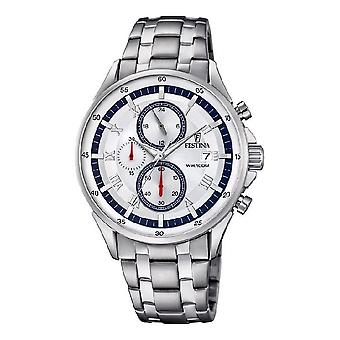 Festina mens watch sport timeless chronograph F6853-1
