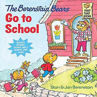 Berenstain Bears Go to School (First Time Books)