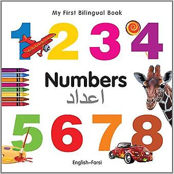 Min första tvåspråkiga bok - nummer (engelska-Farsi)