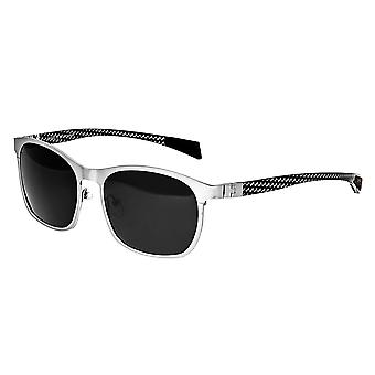 Breed Halley Titanium Polarized Sunglasses - Silver/Black