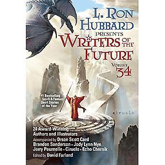 Schrijvers van de toekomst Volume 34: de beste nieuwe Sci Fi en Fantasy korte verhalen van het jaar (schrijvers van de toekomst)