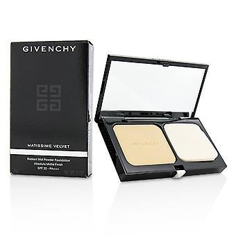 Givenchy Matissime Velvet Radiant Mat Powder Foundation Spf 20 - #01 Mat Porcelain - 9g/0.31oz
