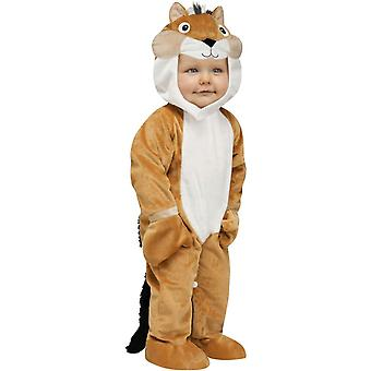 Chipmunk Infant Costume